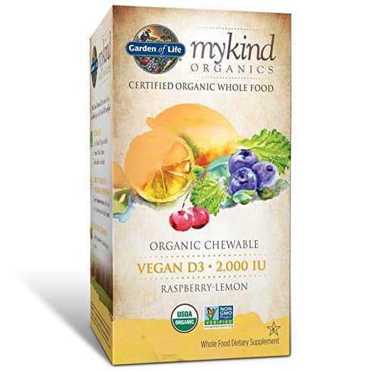 Garden of Life Vitamin D3