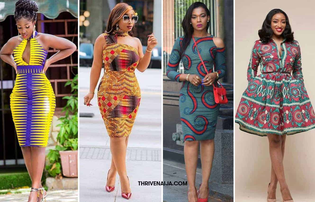 45 Ankara Short Gown Styles Designs 2019 (Updated Weekly