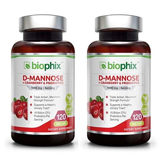 D-Mannose Plus Cranberry and Probiotics
