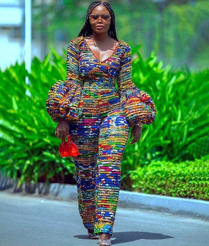 15 latest ankara jumpsuits
