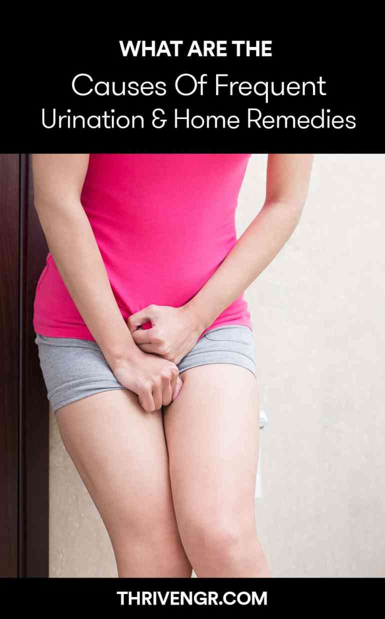 frequent urination causes and remedies