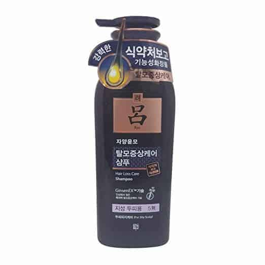 Ryoe Jayang Yoon Mo Anti Hair loss Shampoo For Oily Scalp