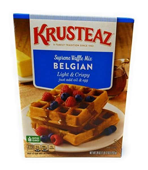 Light & Crispy Belgian Waffle Mix