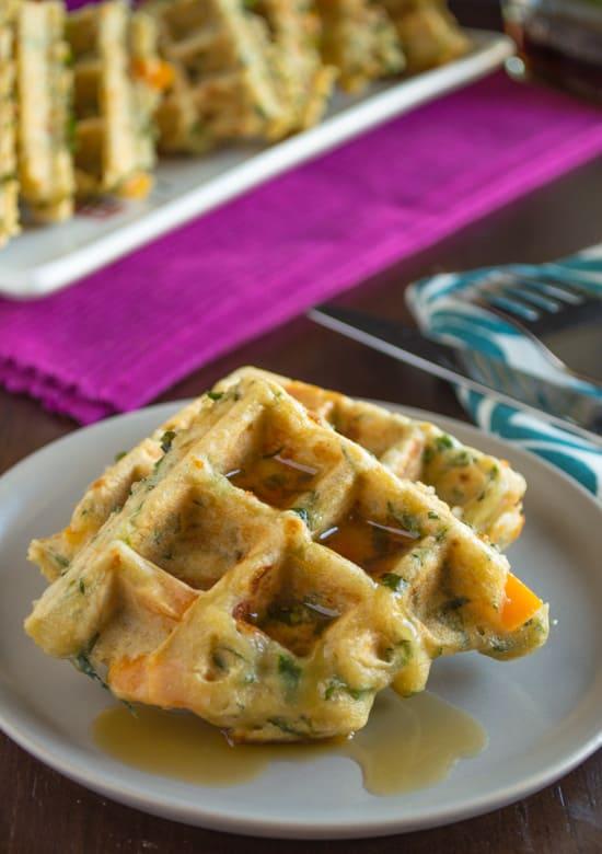 Savory Veggie Waffle Recipe