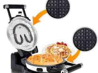 Secura Upgrade Automatic 360 Rotating Belgian Waffle Maker