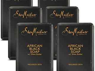 Shea Moisture African Black Soap With Shea Butter
