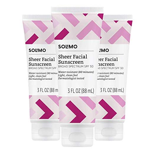 Solimo Sheer Facial Sunscreen
