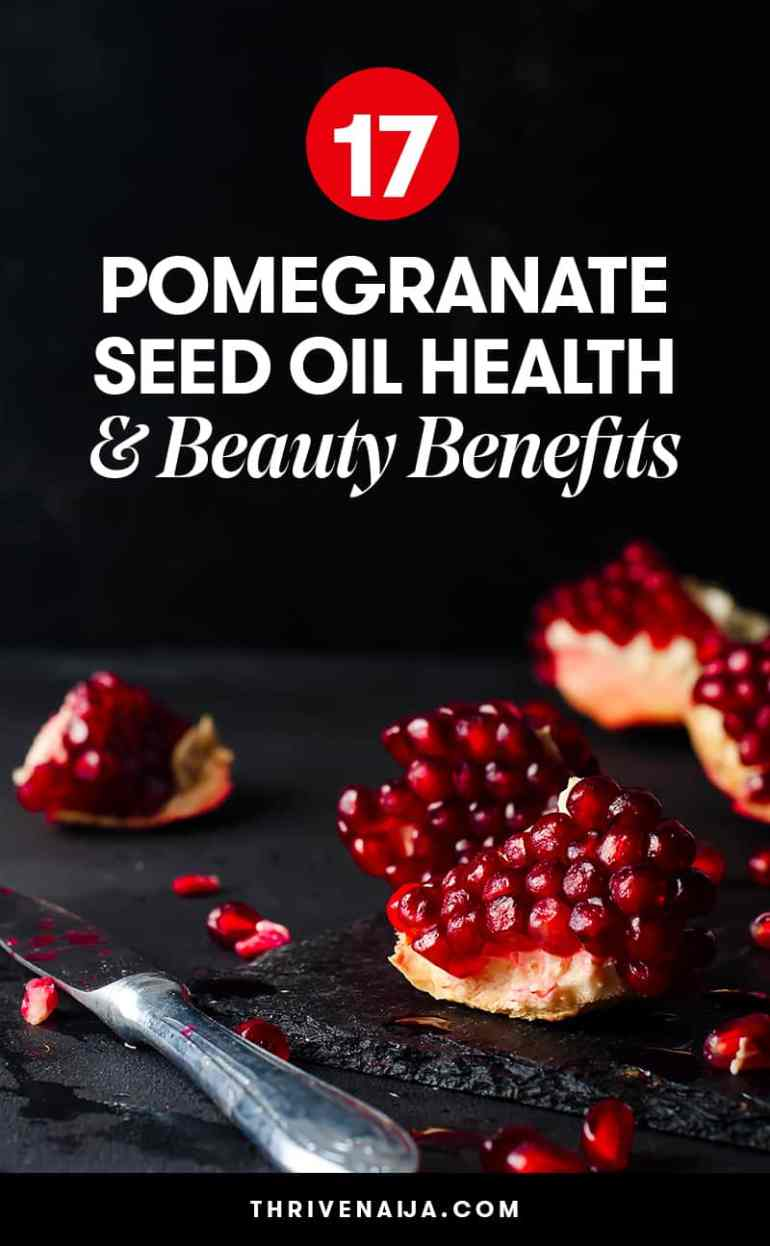 pomegranate seed oil beauty benefits