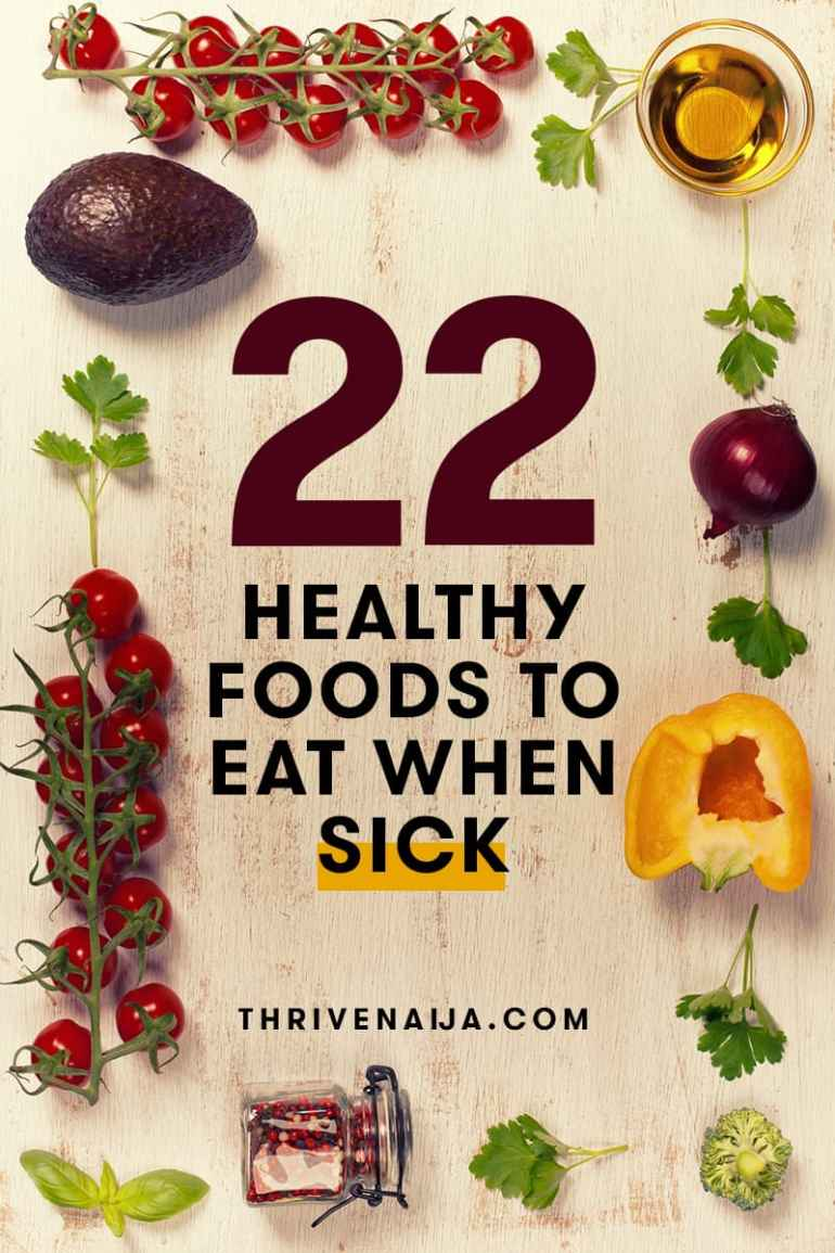 foods to eat when sick