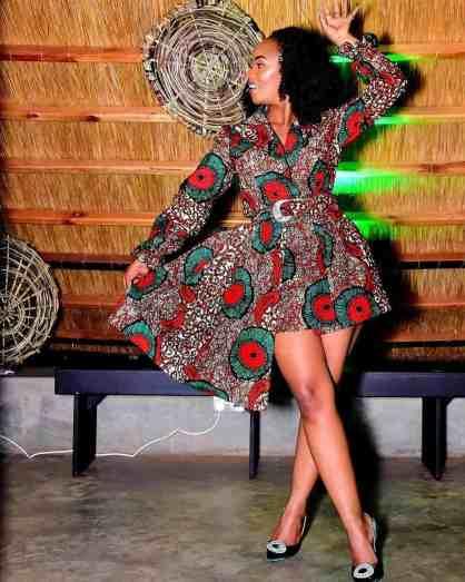 120 Ankara Short Gown Styles Designs 2020   ThriveNaija