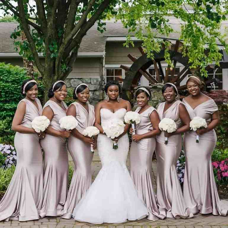 Beautiful bridesmaid styles