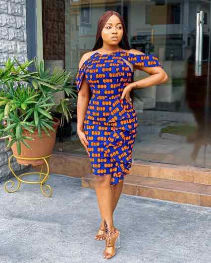 Peplum Ankara Short Gown Styles 2021