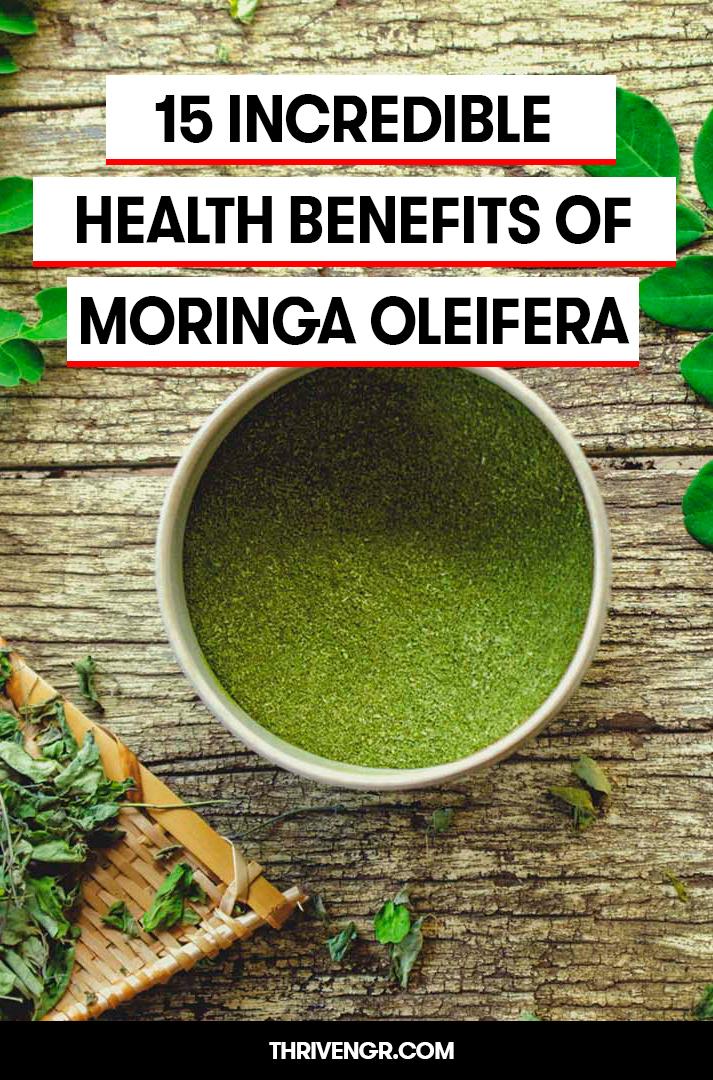 moringa oleifera benefits