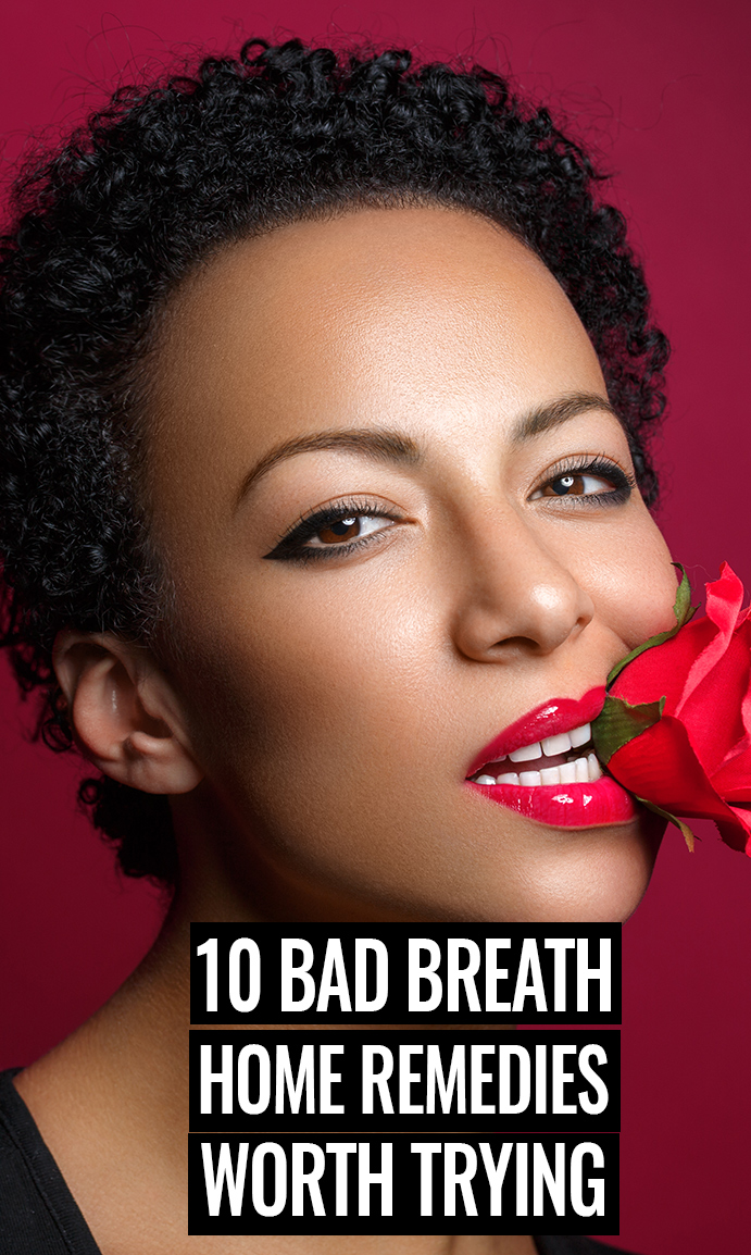 Bad Breath Home Remedies
