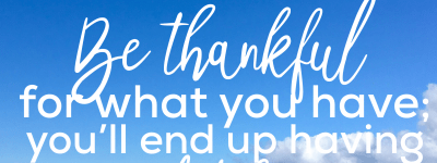 Practicing Gratitude: See How You Score