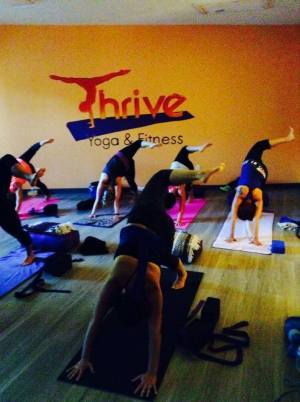 Join the Yoga and Fitness Commitment Challenge at THRIVE