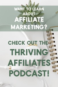 the thriving affiliates podcast image