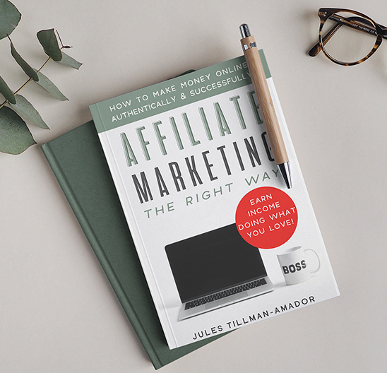"""Get the book on affiliate marketing. You don't need to take a high-priced, over-hyped course to learn how to do affiliate marketing, because """"Affiliate Marketing the Right Way: How to Make Money Online Authentically and Successfully"""" the book (on Kindle and paperback - audio version coming soon!) is here!"""