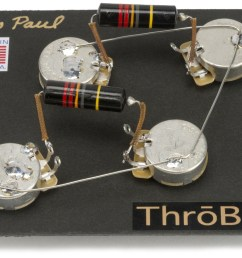 les paul wiring harness throbak 50 s style wiring kit for les paul bumblebee s les paul wiring diagram 50 [ 1100 x 764 Pixel ]
