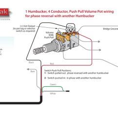 Guitar Wiring Diagrams Humbucker Thermo King V500 Diagram Throbak Push/pull Phase