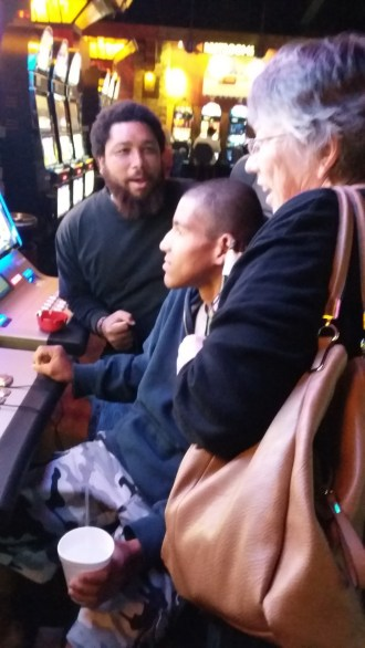 Dusty and James's 1st time casino gambling