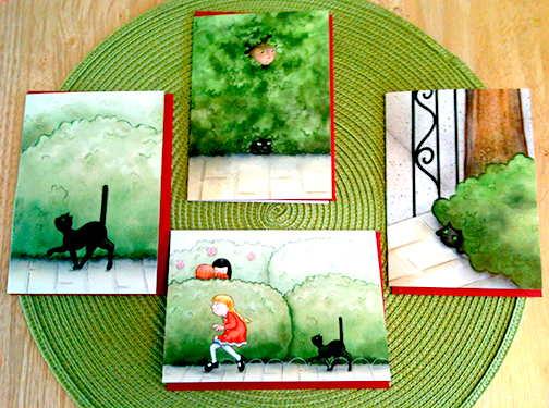 Greeting cards for ONE BRIGHT RING