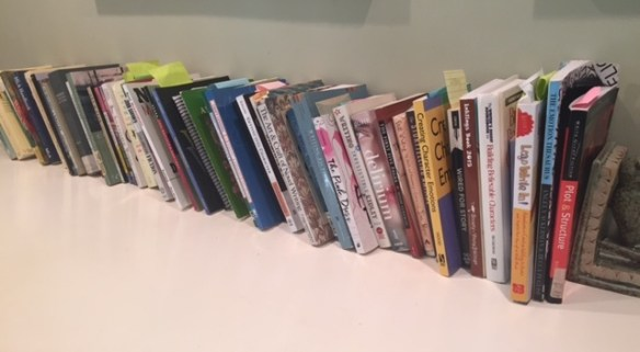 Just a few of my many craft books