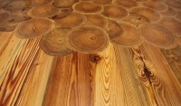 Goodwin Heart Pine Reclaimed Wood Floors at Through the ...