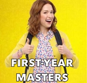 throwcase first year masters kimmy schmidt