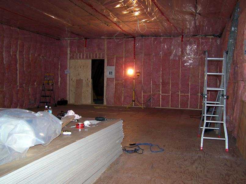 Drywall Moisture Barrier : Vapor barrier bathroom ceiling new drywall