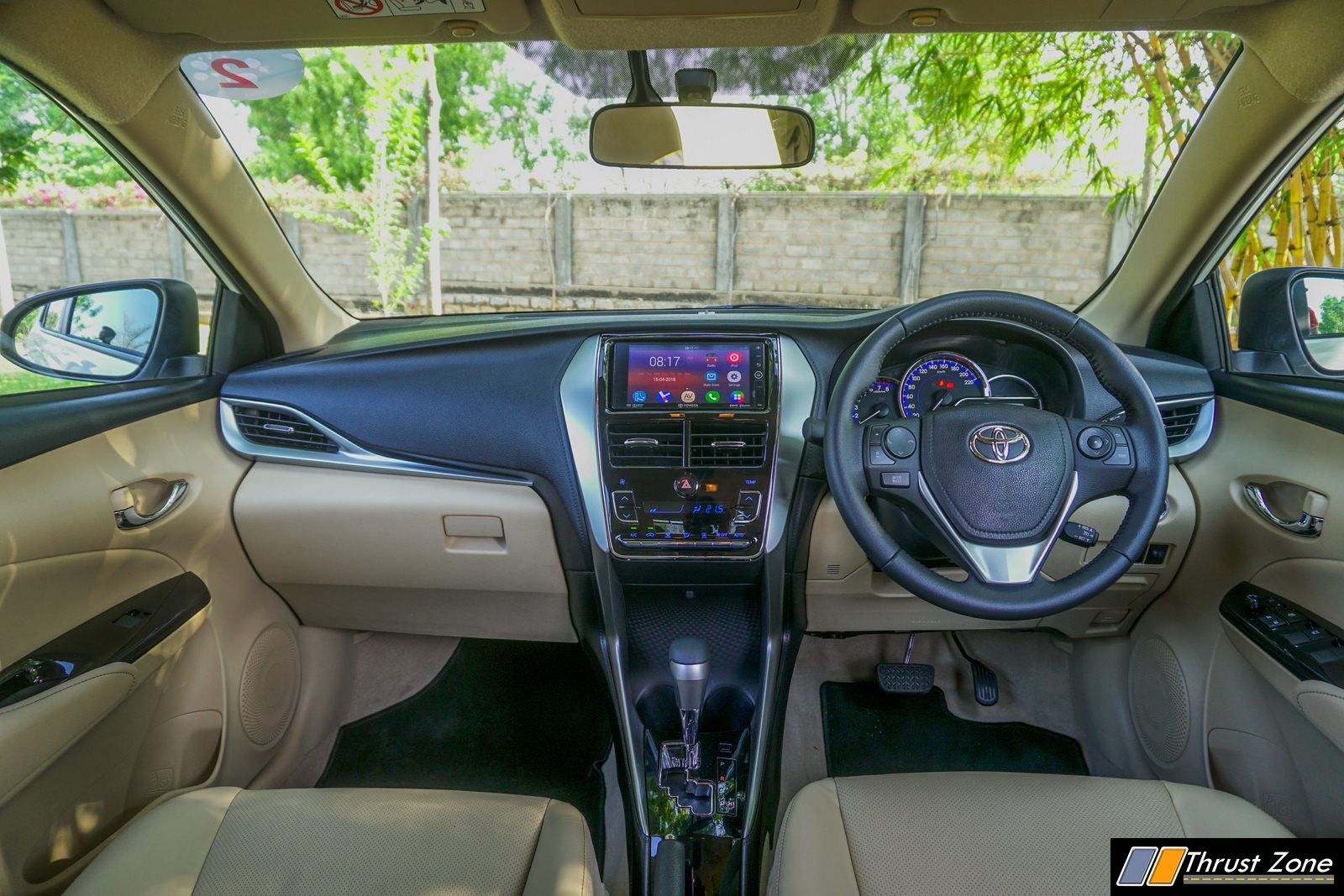 interior new yaris trd 2018 kelebihan grand avanza 2016 toyota review first drive in india price