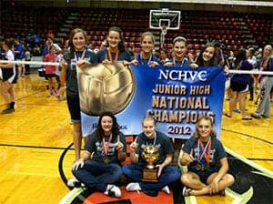Home Schoolers Win Volleyball Championship