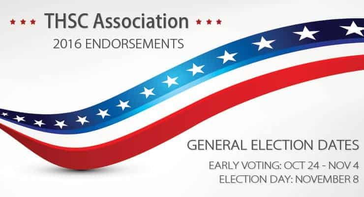 2016 General Election Endorsements