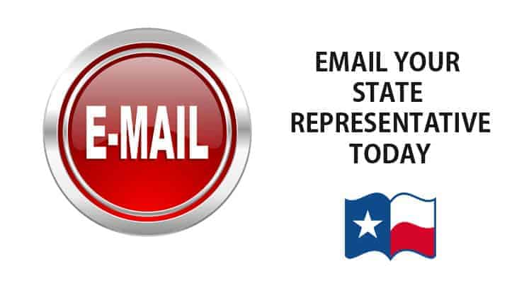 Email your state representative today