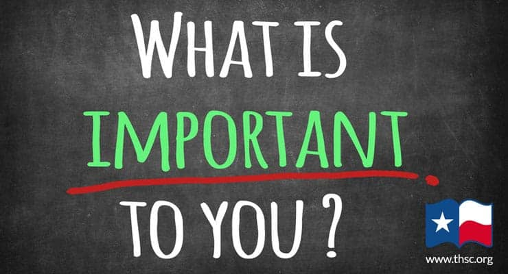 What is Important to You!