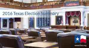 2016 Primary Election Results and Runoffs