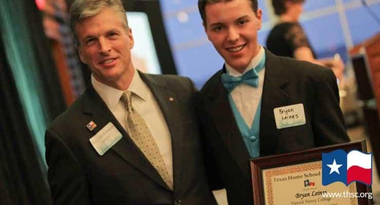 Bryan Leines Patrick Henry College Scholarship Winner