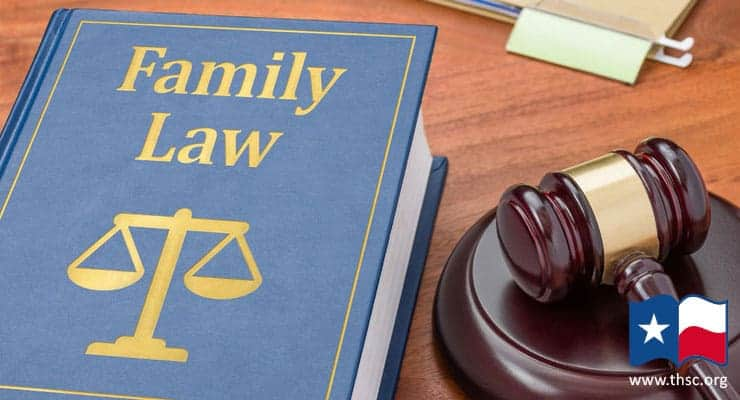 Texas Family Law Needs Amended