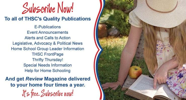 Subscribe to THSC Newsletters