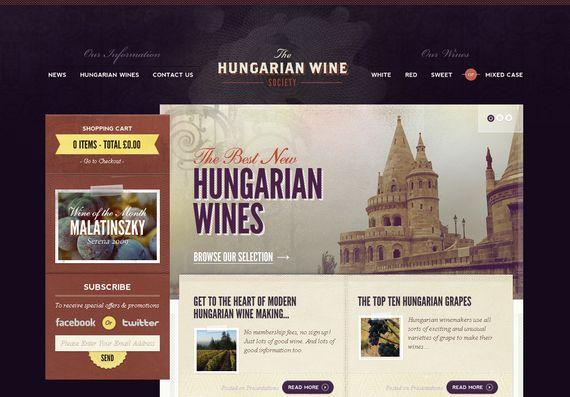 Diseño web con estilo retro