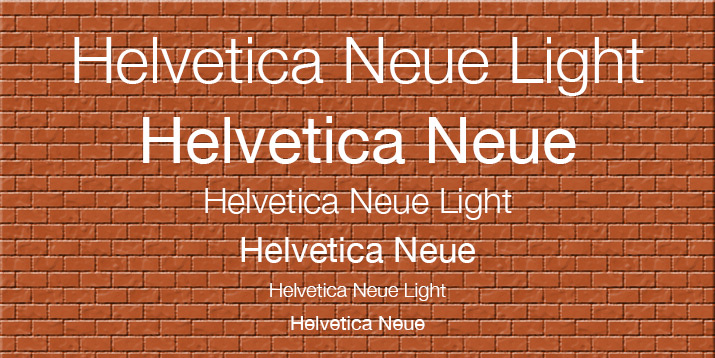 helvetica-light