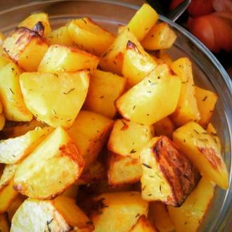 Kruidige aardappetjes uit de oven
