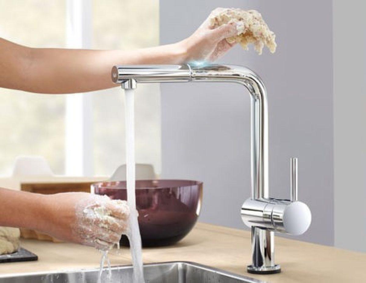 robinet de cuisine design
