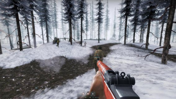 Day of Infamy Snow Rifle