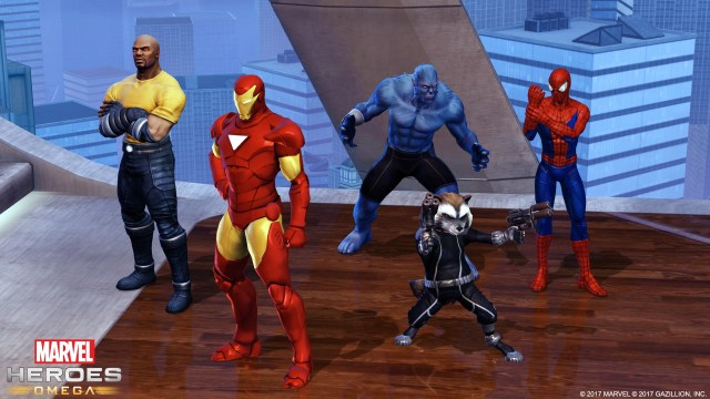 Marvel Heroes Omega - Teaming Up
