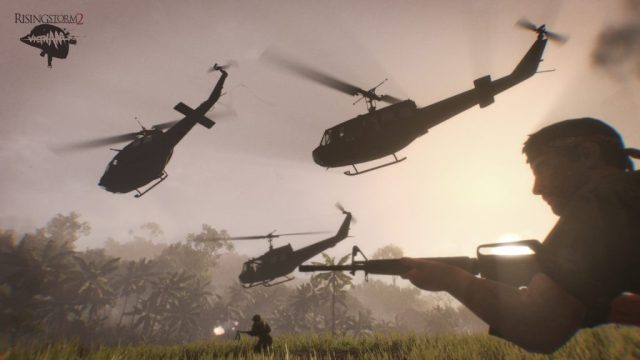 Rising Storm 2 Helicopter Fly Over