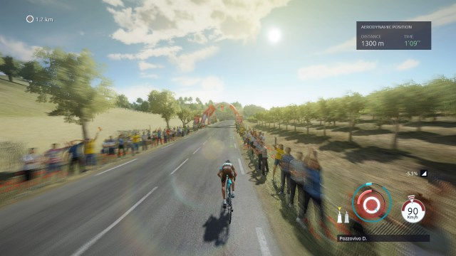 Tour De France 2017 - Speed Effects
