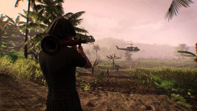 Rising Storm 2 Vietnam soldier with an RPG