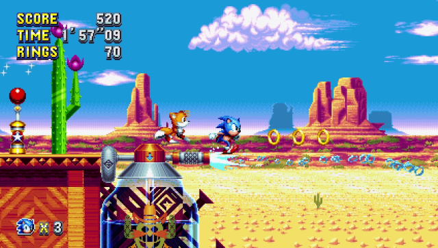 Sonic Mania - Sonic and Tails are back