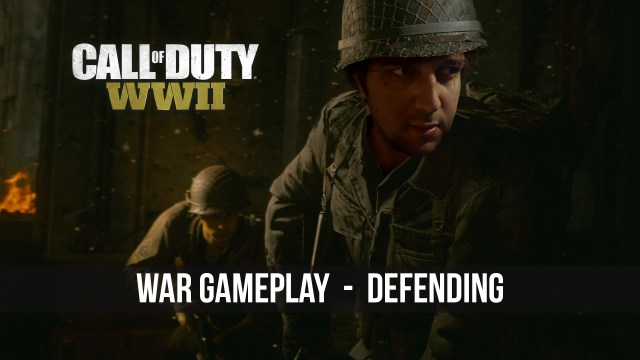 Call of Duty: WWII War Gameplay